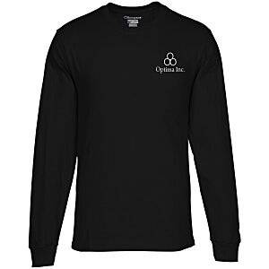 Champion Long-Sleeve Tagless T-Shirt - Colors