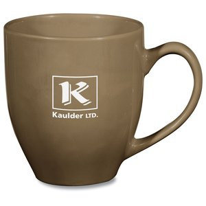 Hand Painted Earth Tone Mug - 13 oz. Main Image