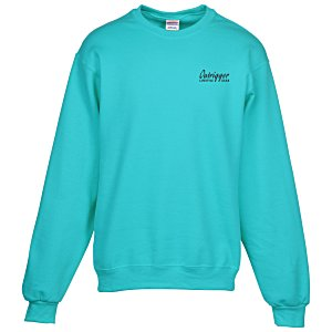 Jerzees NuBlend Crewneck Sweatshirt - Screen Main Image