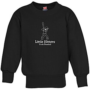 Hanes ComfortBlend Sweatshirt - Youth - Screen Main Image