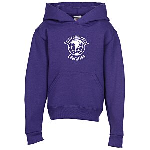 Jerzees NuBlend Hooded Sweatshirt - Youth - Screen