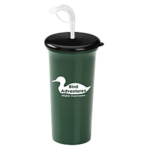 Sport Sipper with Straw - 32 oz. - Recycled Main Image
