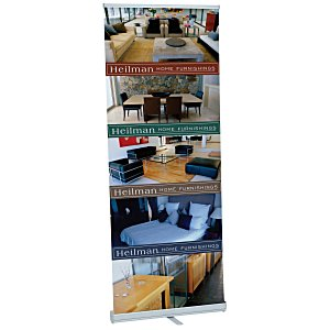 "Single Foot Retractor Banner Display – 33-1/2"" Main Image"