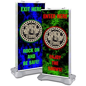 Indoor/Outdoor Retractor Banner Main Image