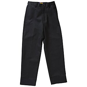Teflon Treated Flat Front Pants - Men's Main Image