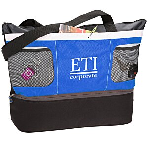 Double Decker Cooler Tote Main Image