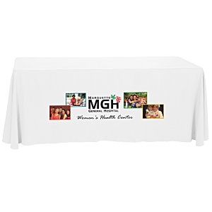 Closed-Back Table Throw - 6' - Front Panel - Full Color Main Image