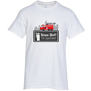 Gildan 6 oz. Ultra Cotton T-Shirt - Full Color - White Main Image