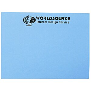 "Post-it® Notes - 3"" x 4"" - 50 Sheet - Colors - Recycled Main Image"