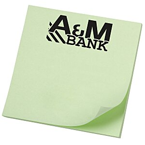 "Post-it® Notes - 3"" x 2-3/4"" - 50 Sheet - Colors - Recycled Main Image"