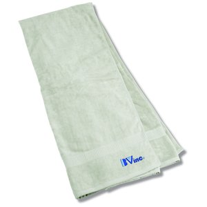 100% Organic Cotton Beach Towel Main Image