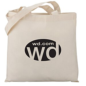 Cotton Sheeting Economy Tote - Organic Main Image