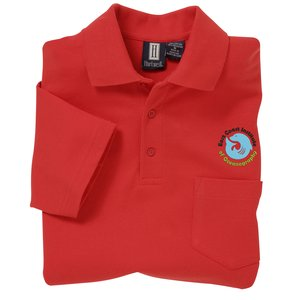 60/40 Blend Pocket Pique Sport Shirt - Men's Main Image