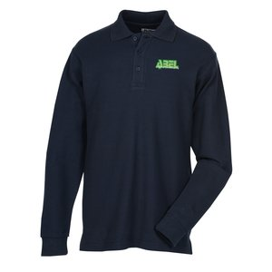 100% Combed Cotton LS Sport Shirt - Men's Main Image