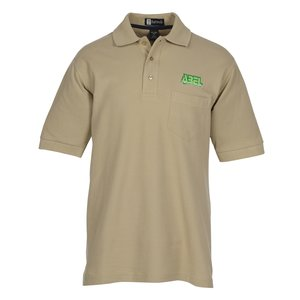 100% Combed Cotton Pocket Sport Shirt - Men's Main Image