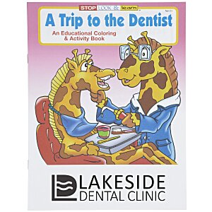 A Trip to the Dentist Coloring Book Main Image
