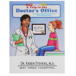 A Trip to the Doctor's Office Coloring Book Main Image