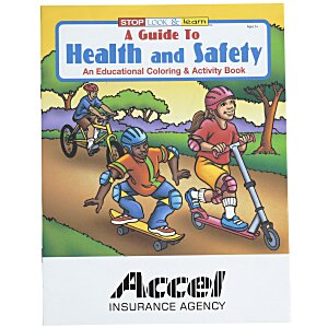 A Guide To Health & Safety Coloring Book Main Image