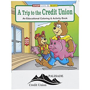 A Trip to the Credit Union Coloring Book Main Image