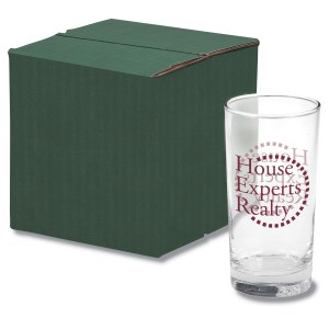 Deluxe Beverage Glass Set - Colored Box Main Image