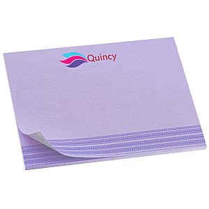Bic Sticky Note - Designer - 3x4 - Stripes - 25 Sheet Main Image