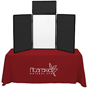 Show N Write Tabletop Display - Economy Kit - 6' - Blank Main Image