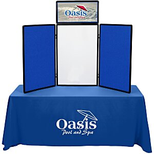 Show N Write Tabletop Display - Economy Kit - 6' - Header Main Image