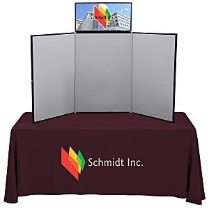 Fold N Go Tabletop Display Kit – 6' – Header Main Image