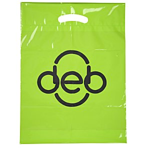 "Oxo-Biodegradable Die Cut Bag - 16"" x 12"" Main Image"