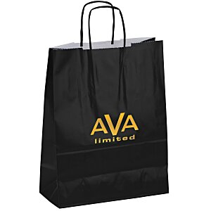 "Gloss Shopping Bag – 13"" H x 10"" Main Image"