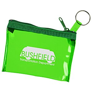 Key Ring Zippered Pouch Main Image