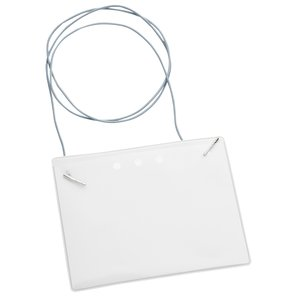 Eco-Friendly Badge Holder - Elastic Neck Cord Main Image