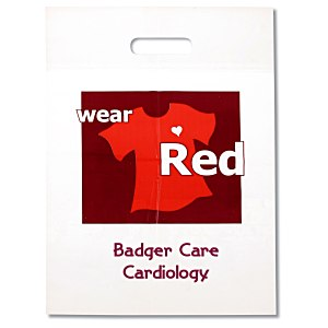 Wear Red Die Cut Bag Main Image