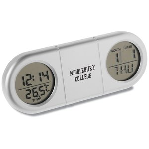 Dual Display Travel Alarm Clock Main Image