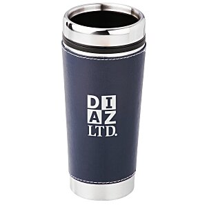 Leatherette Tumbler - 16 oz. - Screen Main Image