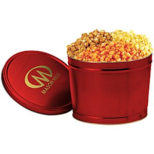 3-Way Popcorn Tin - Solid - 2 Gallon Main Image