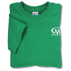 Anvil 5.4 oz. Cotton T-Shirt - Colors Main Image