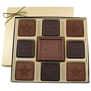 Centerpiece Chocolates - 6 oz. - Thank You & Star Main Image