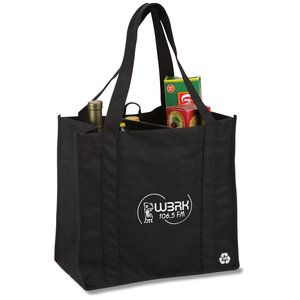 Recycled PET Grocery Tote Main Image