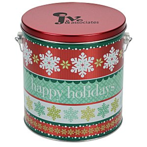 Mini Pretzel Tin - Design - 1 Gallon