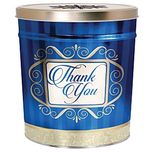 3-Way Popcorn Tin - Design - 3-1/2 Gallon Main Image