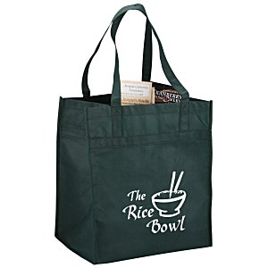 "Polypropylene Reusable Grocery Bag - 15"" x 13"" Main Image"