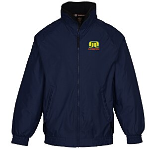 Harriton Fleece-Lined Nylon Jacket Main Image