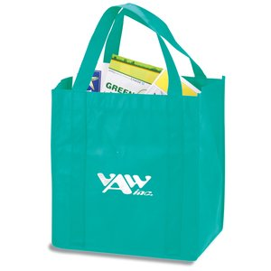 "Polypropylene Shopping Tote - 13"" x 12"" Main Image"