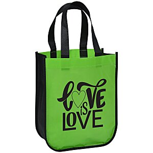 "Laminated Fashion Tote – 11-3/4"" x 9-1/4"" Main Image"