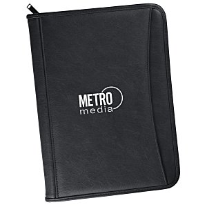 Zippered Vinyl Portfolio