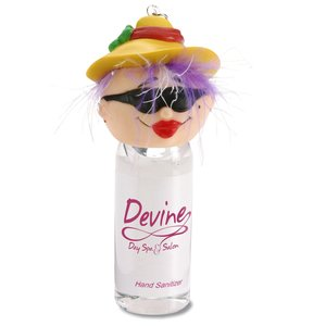 Goofy Head Hand Sanitizer - Beach Lady Main Image