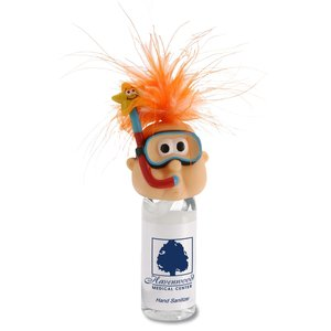 Goofy Head Hand Sanitizer - Snorkel Guy Main Image