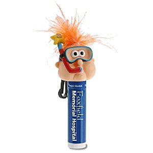 Goofy Clipz Holder with Lip Balm - Snorkel Guy Main Image