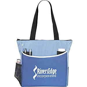 Two-Tone Tote Bag - Recycled Main Image